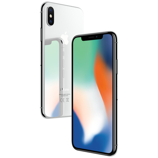 Смартфон Apple iPhone X 64GB Silver (RFB)